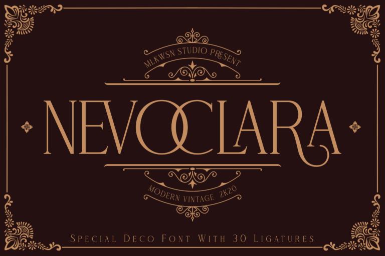 NEVOCLARA - Modern Vintage