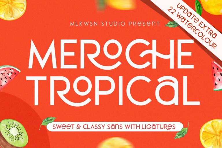 Preview image of Meroche – Sweet & Classy Sans UPDATE