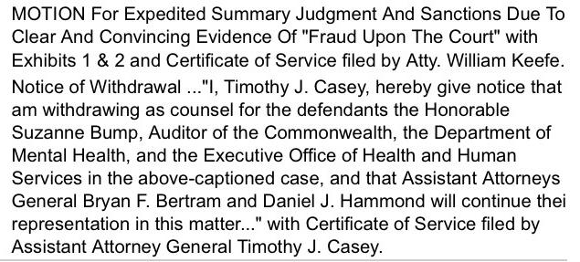 Request Discretionary Powers of Massachusetts Attorney