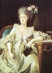 Maria Carolina dipinto del Landini 1787