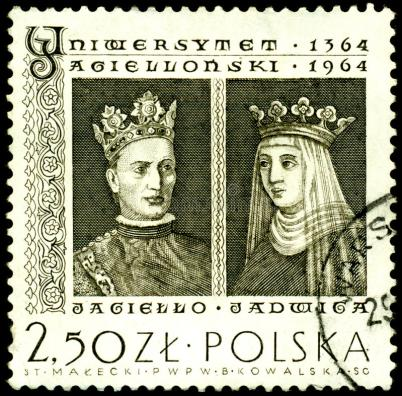 stamp-king-jagiello-jadwiga-14196907
