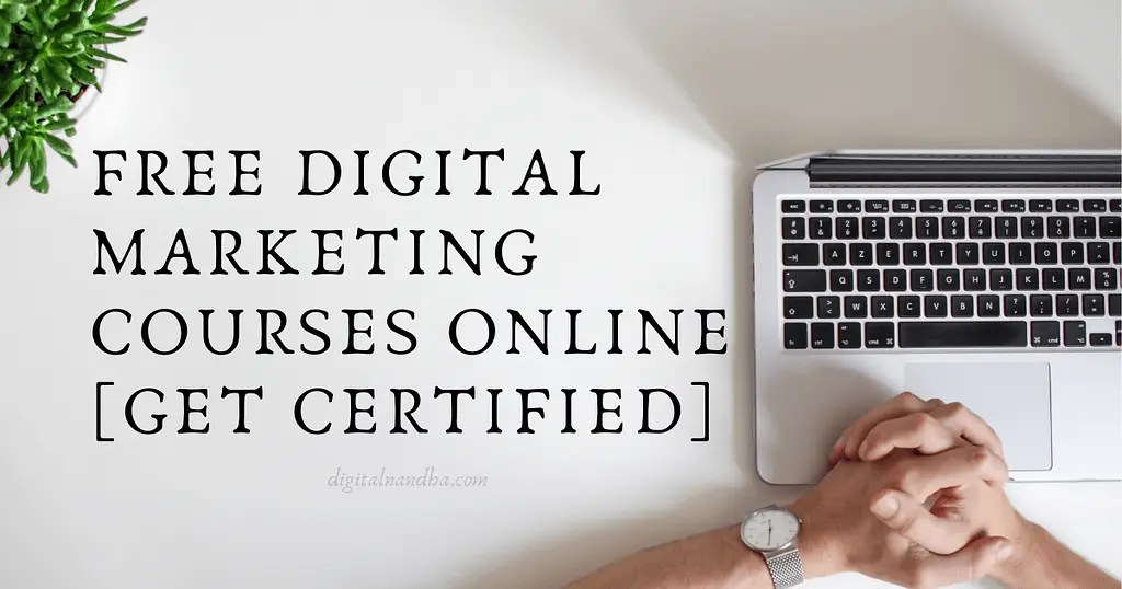 Even if you're past y. 7 Free Digital Marketing Courses Online [Get Certified ...