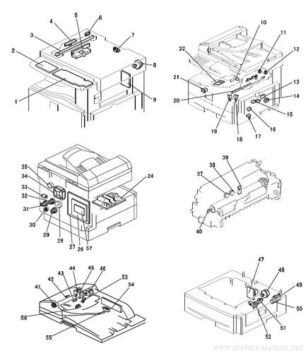 Manual De Servicio Ricoh Mp201spf, Mp201f Aficio Series