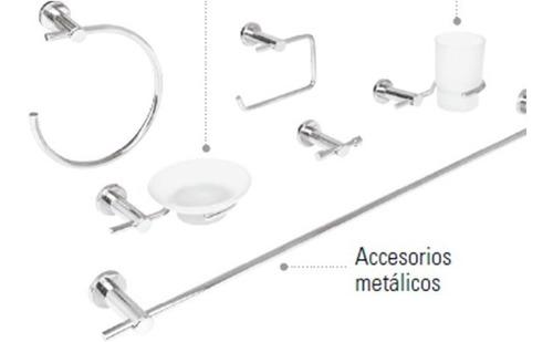 Juego De Accesorios Para Baño Foset Element Wc Kit 49681