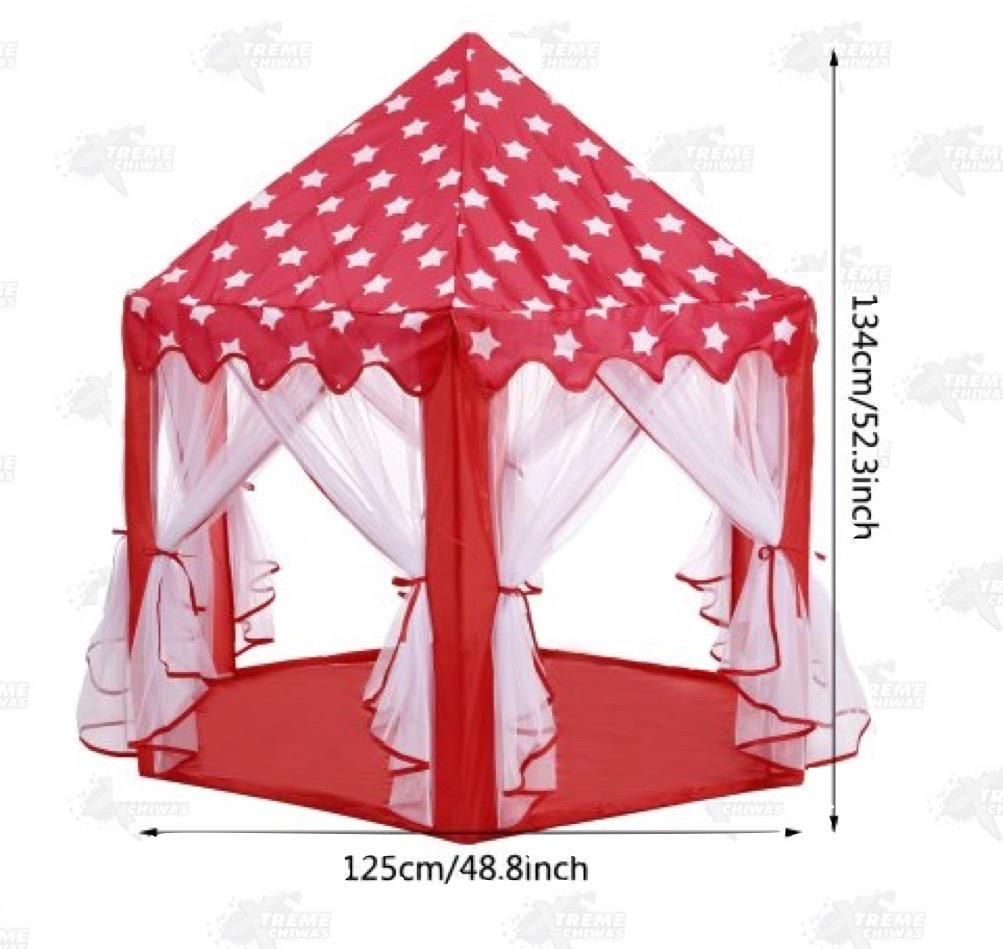 Casa Campaa Roja Infantil Princesa Xtreme   319500 en Mercado Libre