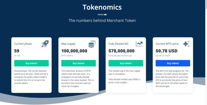 MTO Merchant token