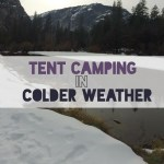 Tent Camping in Colder Weather
