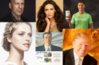 Celebrities in Direct selling