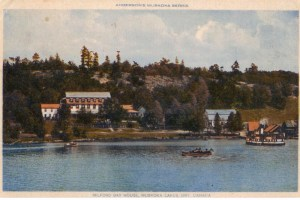 Milford Bay House on Lake Muskoka
