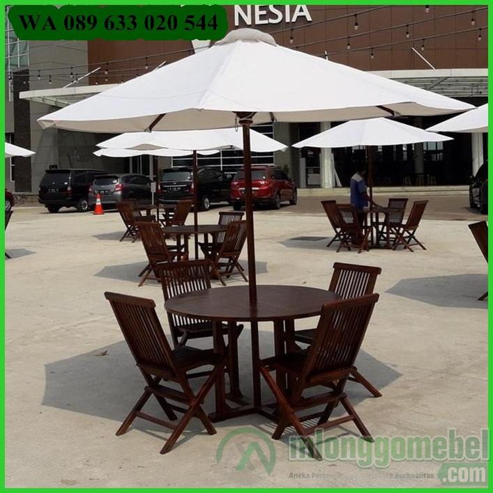 meja payung outdoor