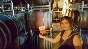 Brick House Winery with Mrs. M. Louis