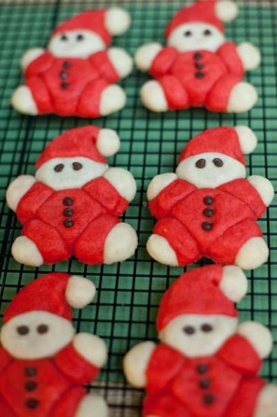 Roly-Poly Santa Cookies - M Loves M