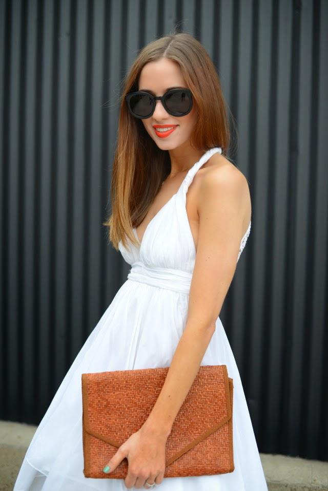 The Flowy White Dress M Loves M
