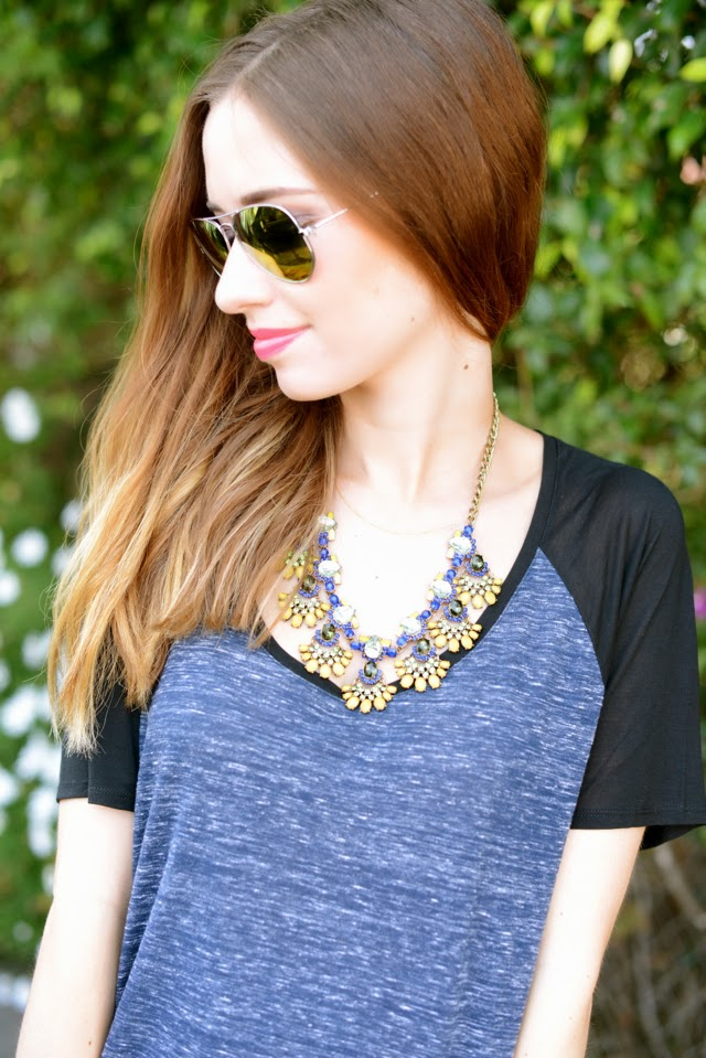 bauble bar necklace, M Loves M