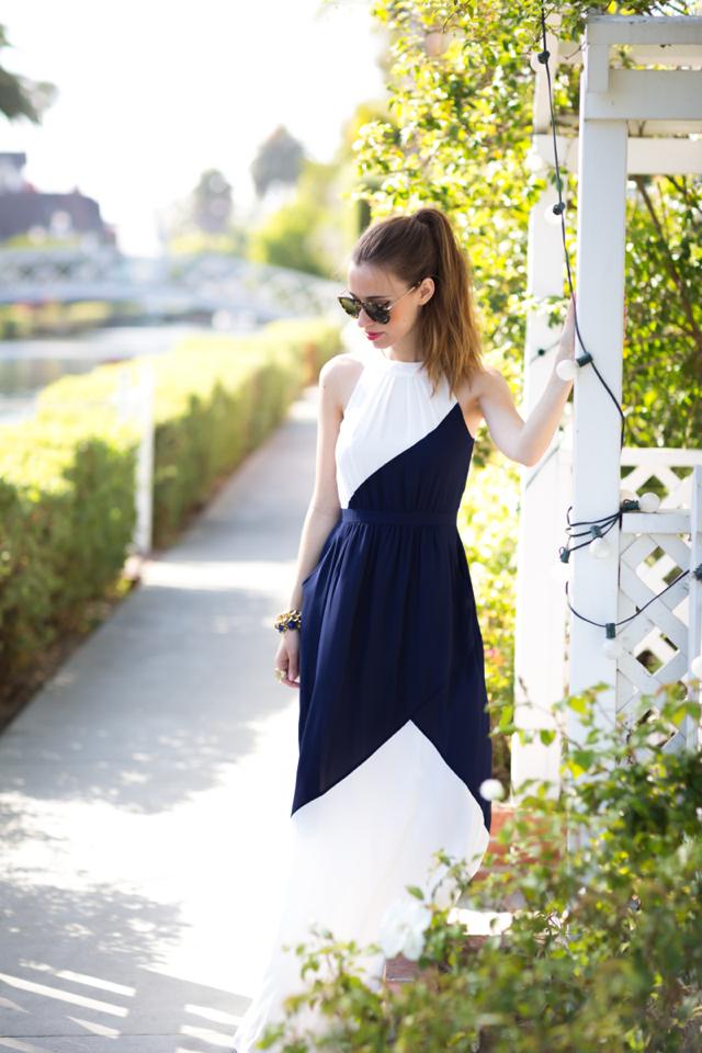 summer maxi dress, M Loves M