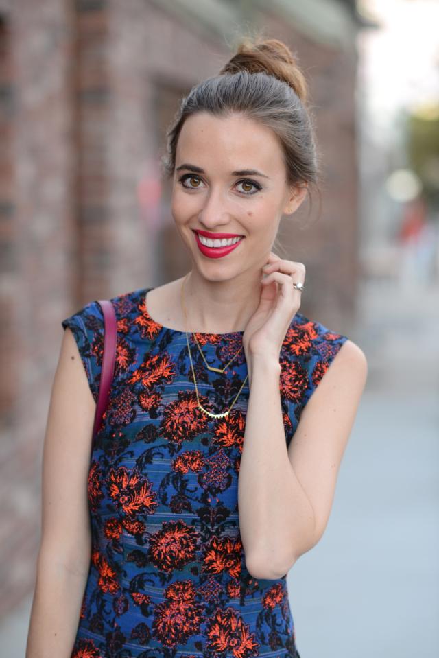 cynthia vincent cap sleeve mini dress via M Loves M @marmar