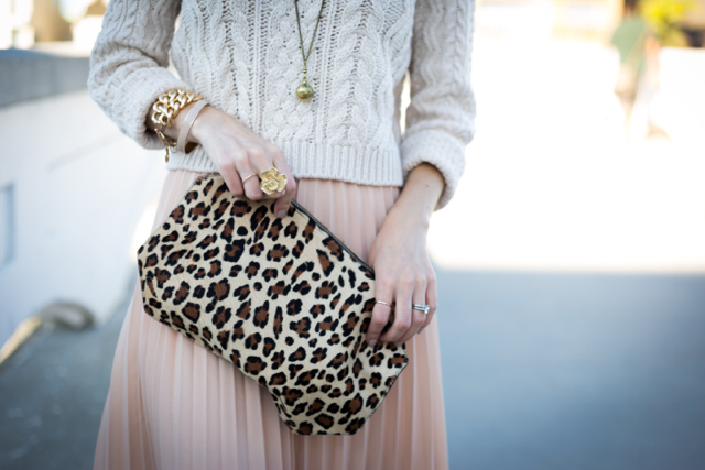 leopard clutch via M Loves M @marmar