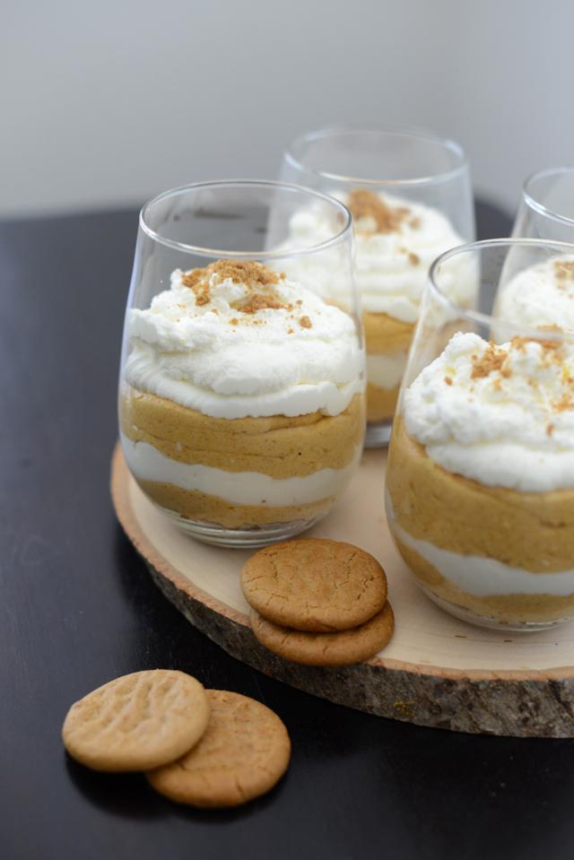 pumpkin pie trifles via M Loves M @marmar
