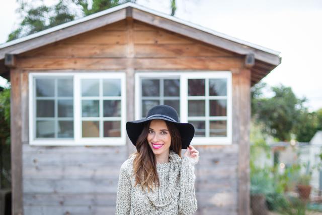 black floppy hat for fall on M Loves M @marmar