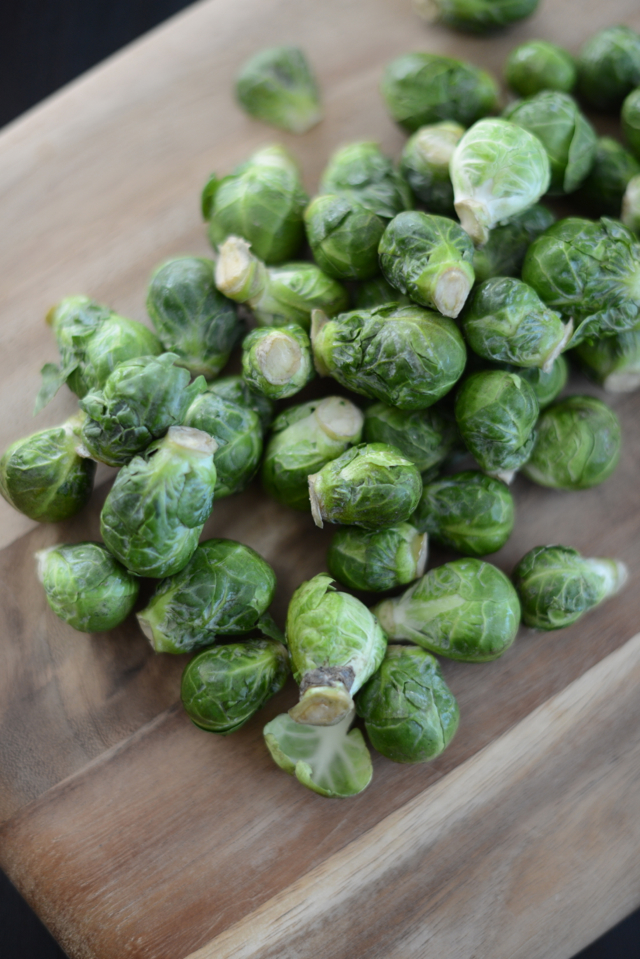 pre-cooked brussels sprouts via M Loves M @marmar