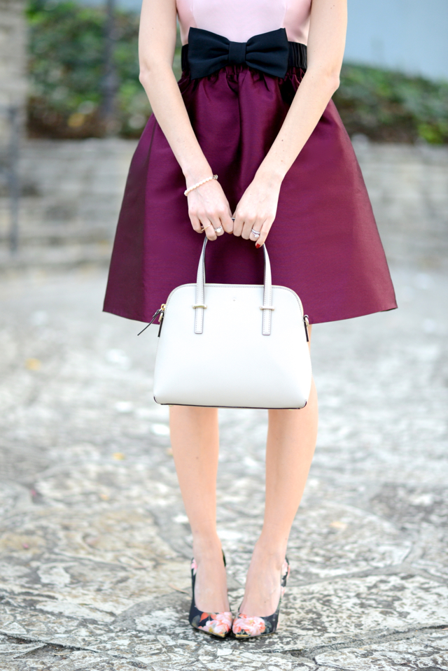 kate spade bag and floral heels on M Loves M @marmar