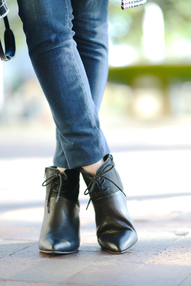 Seychelles Nonchalant booties in black pony hair on M Loves M @marmar