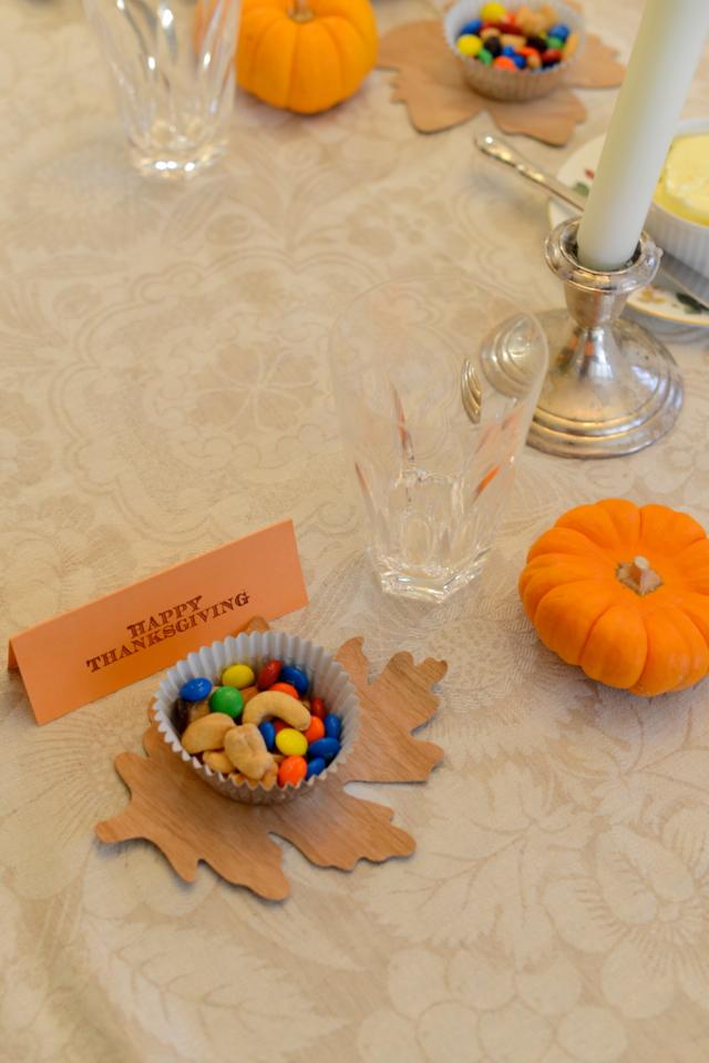 Thanksgiving nut cups via M Loves M @Marmar