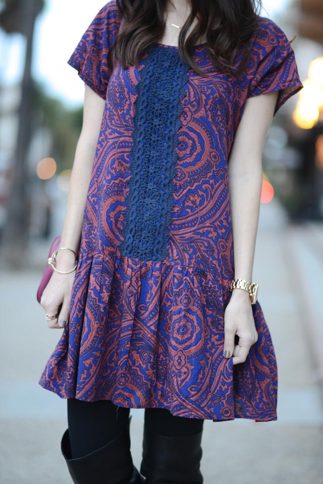paisley dress M Loves M @Marmar