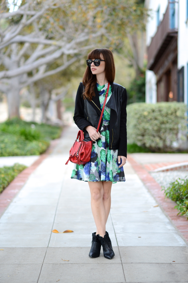 styling a spring dress in winter M Loves M @marmar