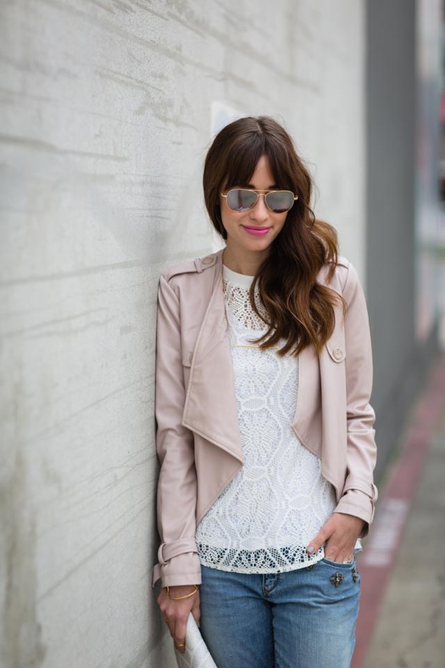 making boyfriend jeans more feminine M Loves M Los Angeles fashion blogger @marmar