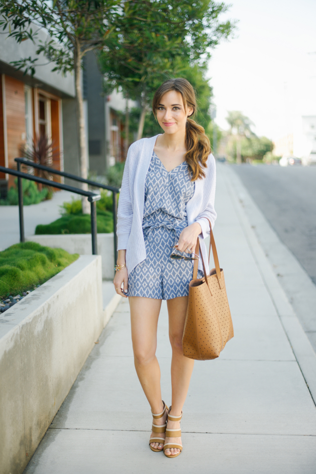 cute spring and summer romper outfit M Loves M @marmar
