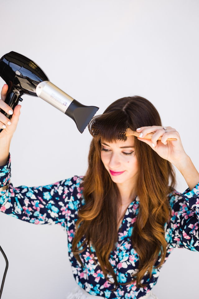 tips for how to style your bangs M Loves M @marmar