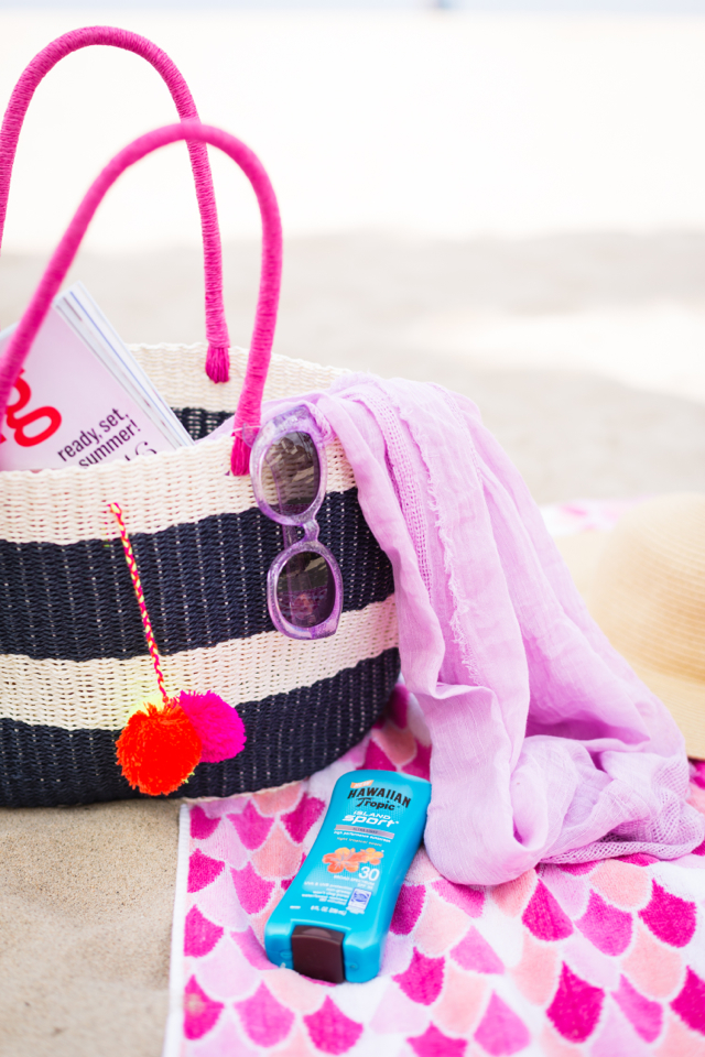 packing for a beach day M Loves M @marmar