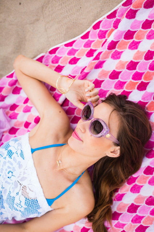 beach day M Loves M Los Angeles fashion and lifestyle blogger @marmar