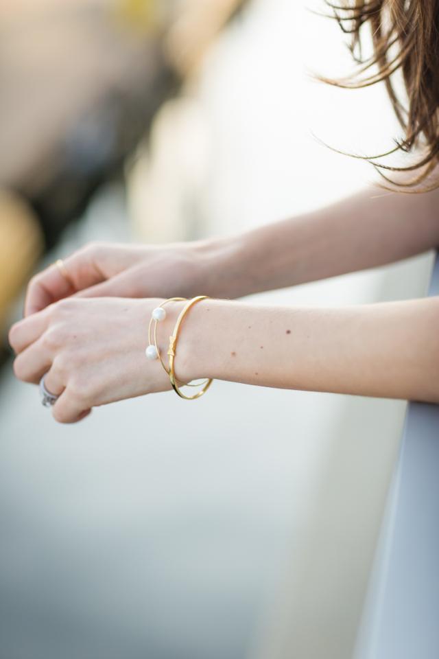 wanderlust and co and gorjana bracelets M Loves M @marmar