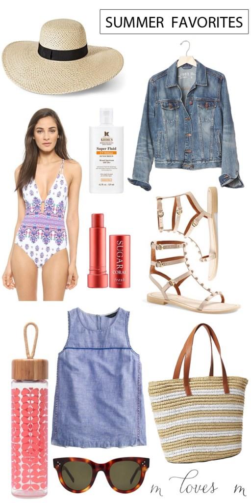 summer favorites for 2015 M Loves M @marmar