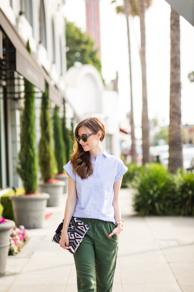 casual work-appropriate outfit M Loves M los angeles blogger @marmar