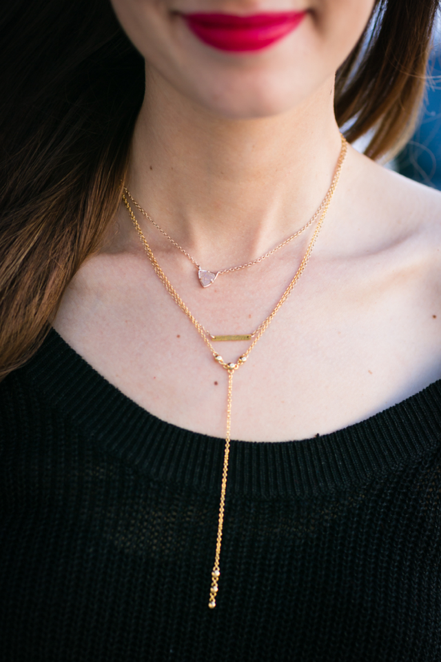 necklace layering M Loves M @marmar