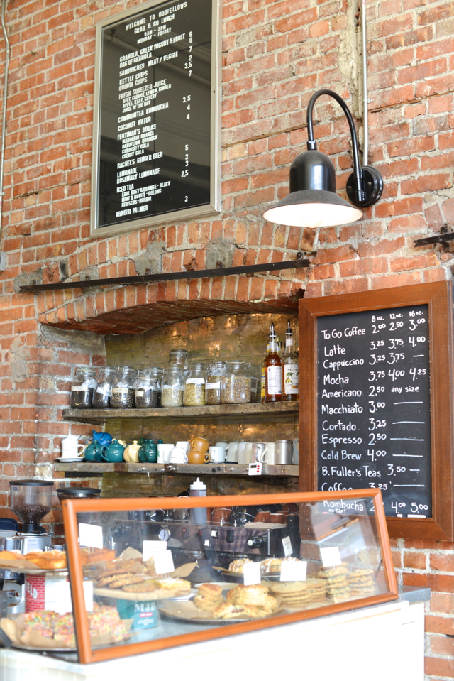 inside of Oddfellows Cafe and Bar in Seattle, Washington M Loves M @marmar