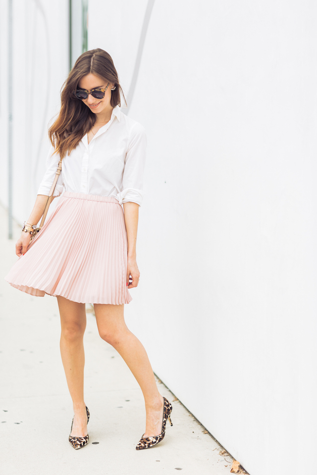 feminine and work appropriate outfit M Loves M @marmar