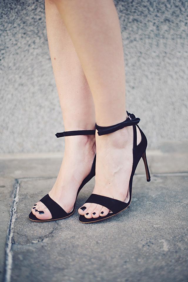 black miu miu sandal heels by M Loves M