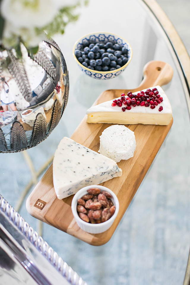 holiday cheese plate M Loves M