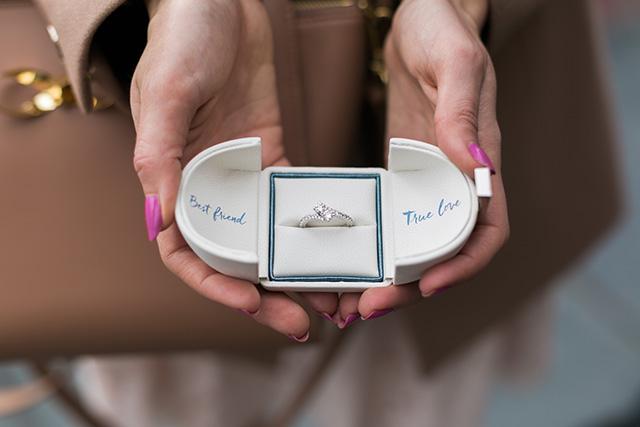 ever us diamond ring M Loves M