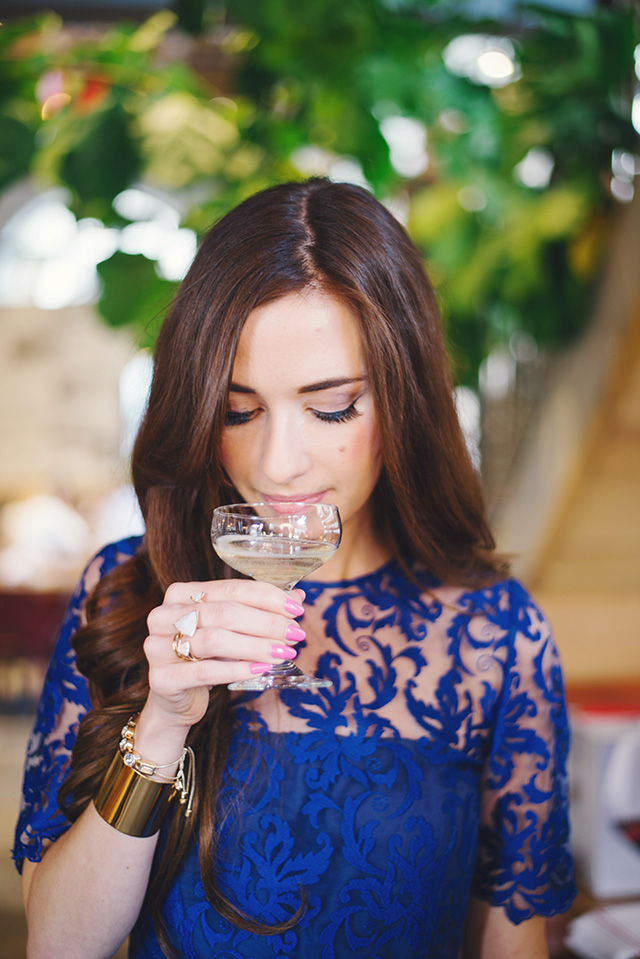 trying a sparkling white wine for the holidays by M Loves M
