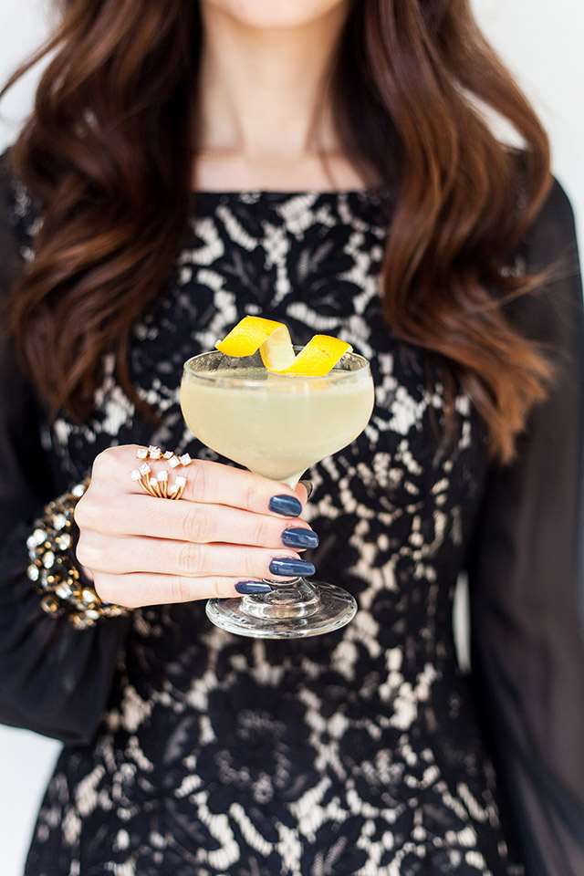 twist on a french 75 cocktail recipe The Whaling Club and M Loves M