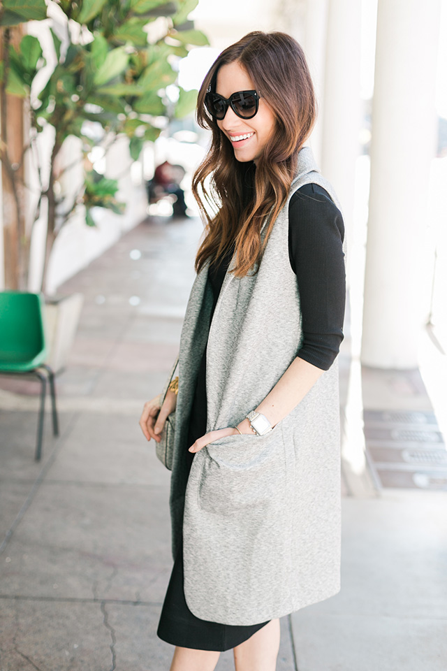 black and gray outfit inspiration M Loves M