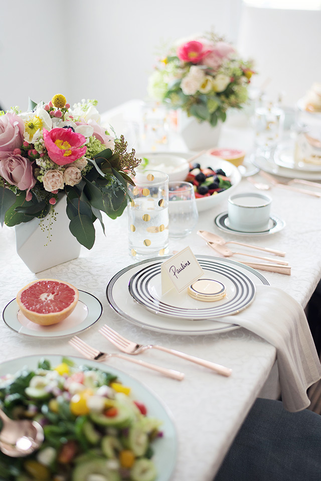 setting the table with kate spade new york's gorgeous tableware M Loves M