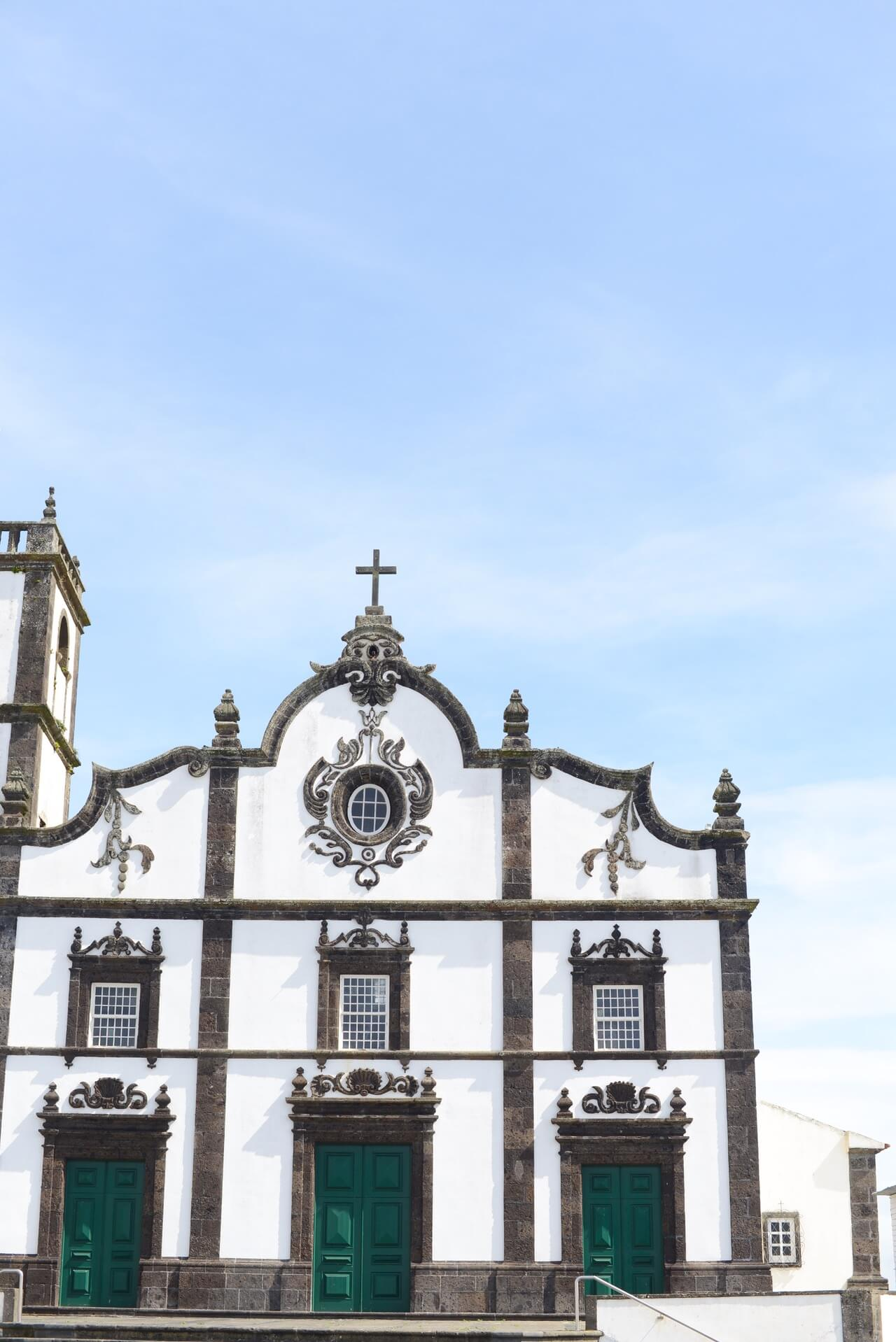 gorgeous churches in sao miguel