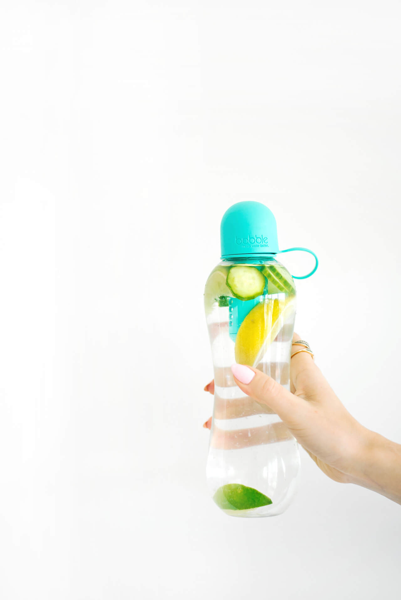 infused water combination that aids in digestion