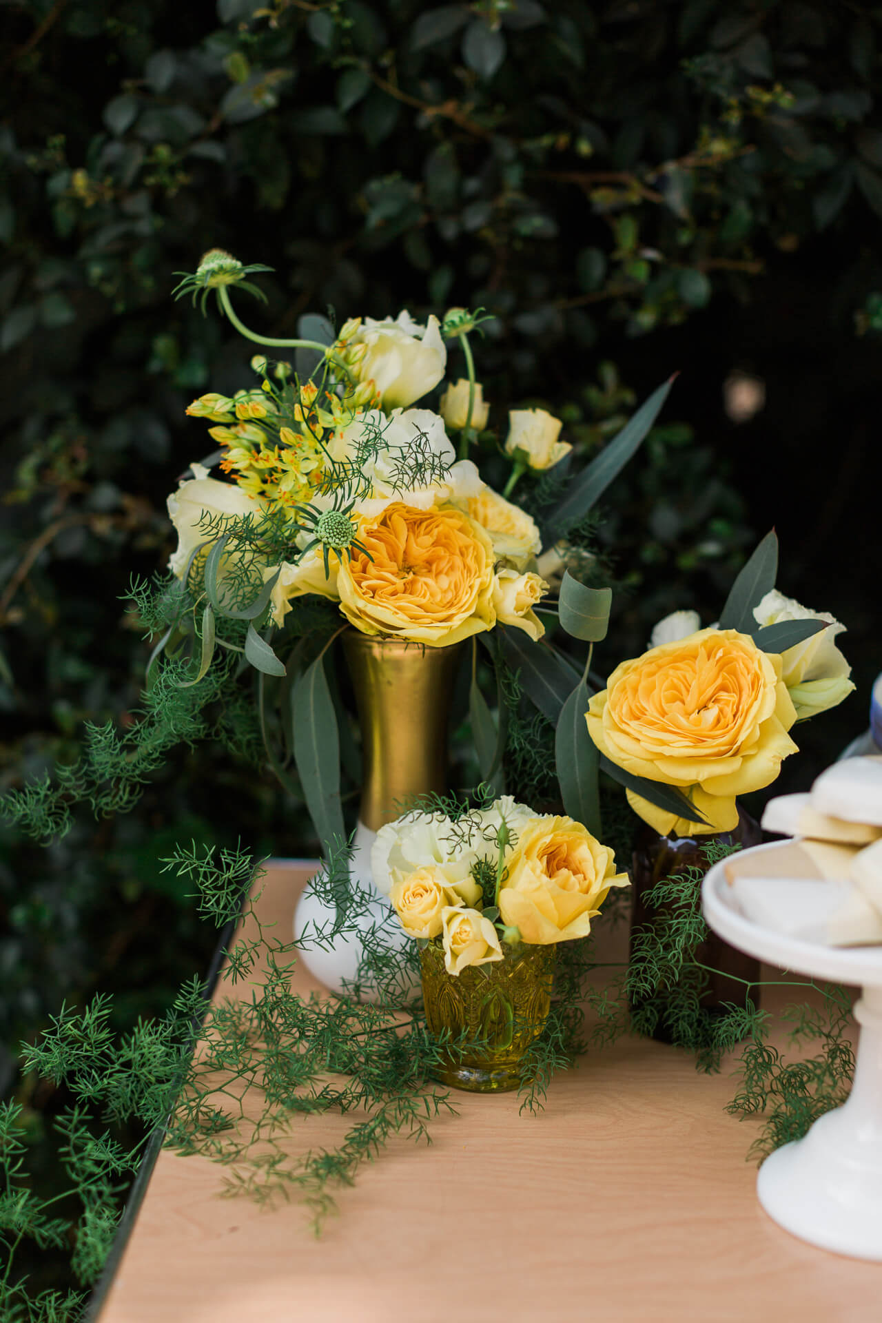 yellow flowers from foxtail florals